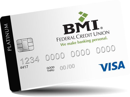 BMI FCU Visa Card