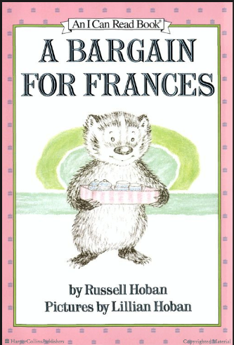a bargain for frances book cover