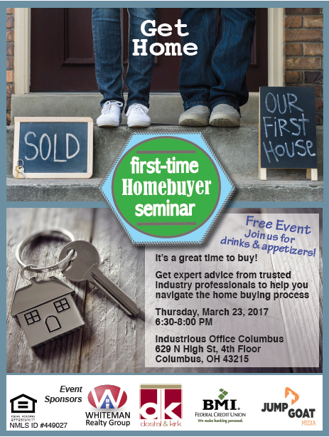 flyer for first time homebuyer seminar